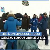 Trois astronautes de l'ISS sont de retour sur Terre