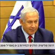 Israël : Netanyahu annonce des législatives anticipées en avril