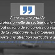 Anne Rigail, première femme aux commandes d'Air France