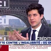 Julien Denormandie : A Marseille, «plus de 1600 personnes qui ont été délogées doivent être relogées»