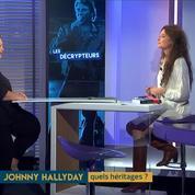 Léna Lutaud : « Peut-être que Johnny ne savait pas ce qu'il signait. »