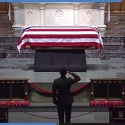 Les funérailles de George H. W. Bush, le 41ème président des Etats Unis à Washington