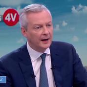 Bruno Le Maire : l'annulation des taxes est «un geste d'apaisement considérable»
