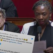 Danièle Obono place le mot «boloss» à l'Assemblée nationale après un pari avec Cauet