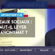 Réseaux sociaux : faut-il lever l'anonymat ?