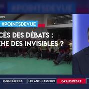 Succès des débats : la revanche des invisibles ?