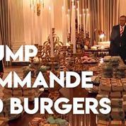 Trump reçoit à la Maison-Blanche avec du McDonald's