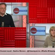 Nadine Morano est l'invitée de la matinale Radio Classique – Le Figaro