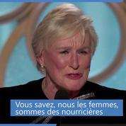 Discours de Glenn Close aux Golden Globes : « Je peux et j'ai le droit de suivre mes rêves »