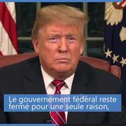 États-Unis : Trump évoque une crise humanitaire à la frontière pour justifier la construction du mur