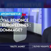 Faut-il regretter le renoncement de Royal à se présenter aux Européennes ?