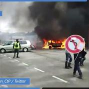 «Gilets jaunes» Acte XI : plusieurs voitures incendiées à Évreux (Eure)