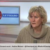 «Emmanuel Macron est à la tête d'un parti virtuel» juge Nadine Morano à propos de LaREM