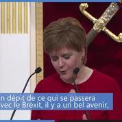 L'Écosse se tournera vers l'extérieur «en dépit du Brexit»