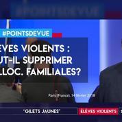 Élèves violents : faut-il supprimer les allocations familiales aux parents ?