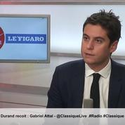 Loi anticasseurs : ils «viennent parfois pour tuer des policiers» explique Gabriel Attal