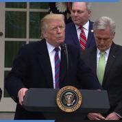 Donald Trump espère négocier la fin du «Shutdown» ce week-end