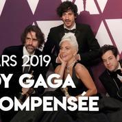 Oscars 2019 : la meilleure chanson revient à Lady Gaga