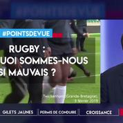 Rugby : pourquoi sommes-nous si mauvais ?