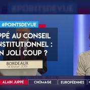 Juppé au Conseil constitutionnel : un joli coup ?