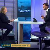 La menace des affaires pour Airbus, analysée par Véronique Guillermard