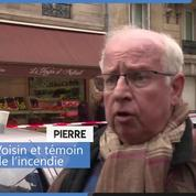 Incendie à Paris : des voisins témoignent