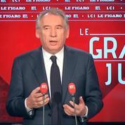 François Bayrou : «Tous ceux qui ont été associés au rapport [de l'affaire Benalla] sont des opposants»