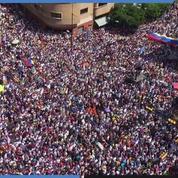 Venezuela : Manifestation pour l'arrivée de l'aide humanitaire