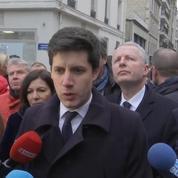 Denormandie sur l'incendie à Paris : «L'immeuble en question ne présentait pas de défaut connu»