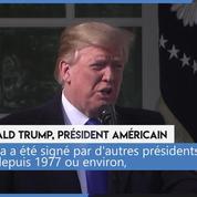 États-Unis : Trump décrète l'urgence nationale pour construire le mur