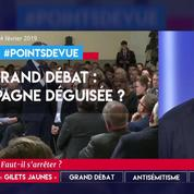 Grand débat : une campagne déguisée ?