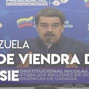 Maduro annonce une aide humanitaire venue de Russie