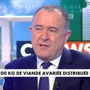 Viande avariée livrée en France : « Une fraude terrible » pour Didier Guillaume