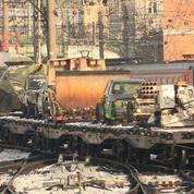 Russie: un train expose des «trophées de guerre» capturés en Syrie