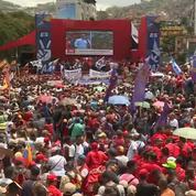Venezuela : rassemblement des partisans du président Maduro à Caracas