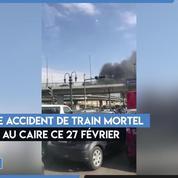 Egypte : au moins 20 morts dans un accident de train