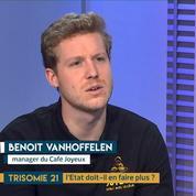 Les personnes trisomiques dans la vie active : le témoignage de Benoit Vanhoffelen du « Café Joyeux »
