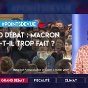 Grand débat : Macron en a-t-il trop fait ?