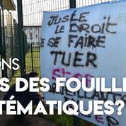 Des surveillants pénitentiaires réclament une «fouille systématique» des détenus et visiteurs