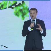 Macron sur le climat : «Nous faisons partie du camp des déterminés»