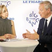 Bruno Le Maire: «Il y a un enjeu de souveraineté majeur face aux géants du numérique» - Big Bang Eco du Figaro 2019