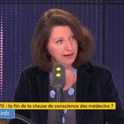 Agnès Buzyn : «Je suis contre la suppression de la clause de conscience» en cas d'IVG