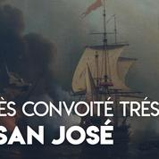 Qui récupérera le très convoité trésor du San José ?