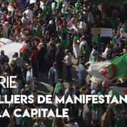 Algérie : des milliers de manifestants protestent contre Bouteflika à Alger