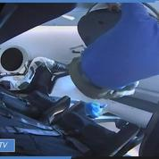 Revivez l'amarrage de la capsule SpaceX à l'ISS
