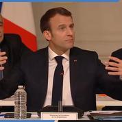 Réforme de l'ISF : Macron se dit favorable à une «évaluation»