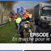 De Marseille à Paris, rencontre avec ces «gilets jaunes» qui marchent pour le RIC