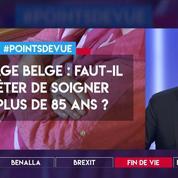 Sondage belge : faut-il arrêter de soigner les plus de 85 ans ?