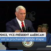 États-Unis: Mike Pence veut une «base permanente» américaine sur la Lune