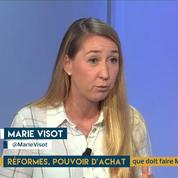 Les français plus optimistes sur les réformes et le pouvoir d'achat : l'analyse de Marie Visot